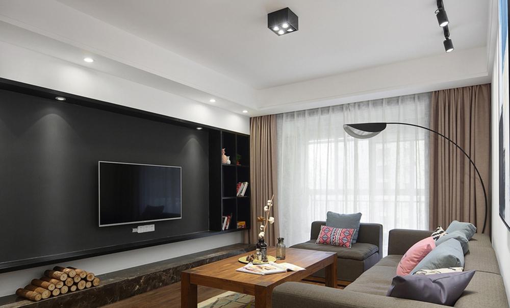 120平米三居室精美装修 北欧全包14万!-阳光城翡丽湾装修