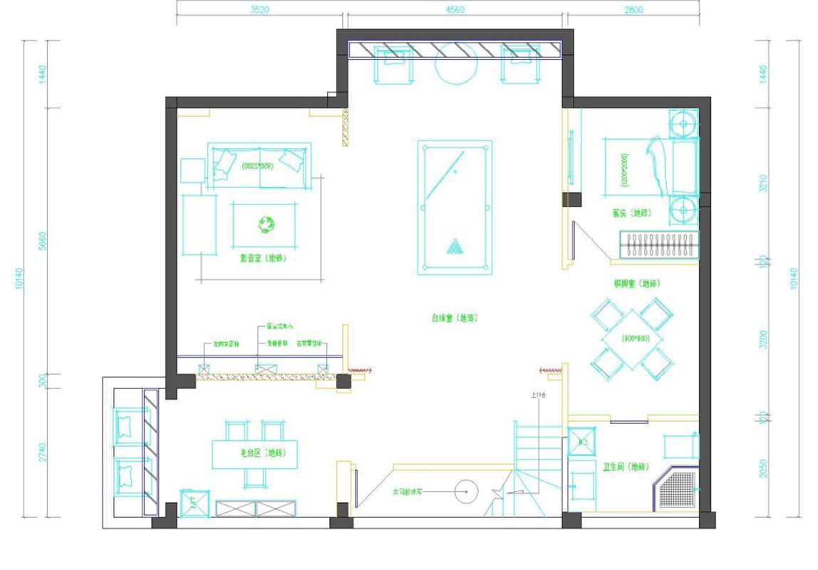 本案是一套三层独栋别墅,格局较为合理但南北狭长。设计师对户型进行深入分析后,发现结构上厨房过大,北阳台实用性小,客厅阳台连接南阳台,面积又偏大。设计师对功能进行了新的优化,所以整体风格上,定位欧式风格,色彩以柔和的颜色为主,意在营造出温馨的居家环境。