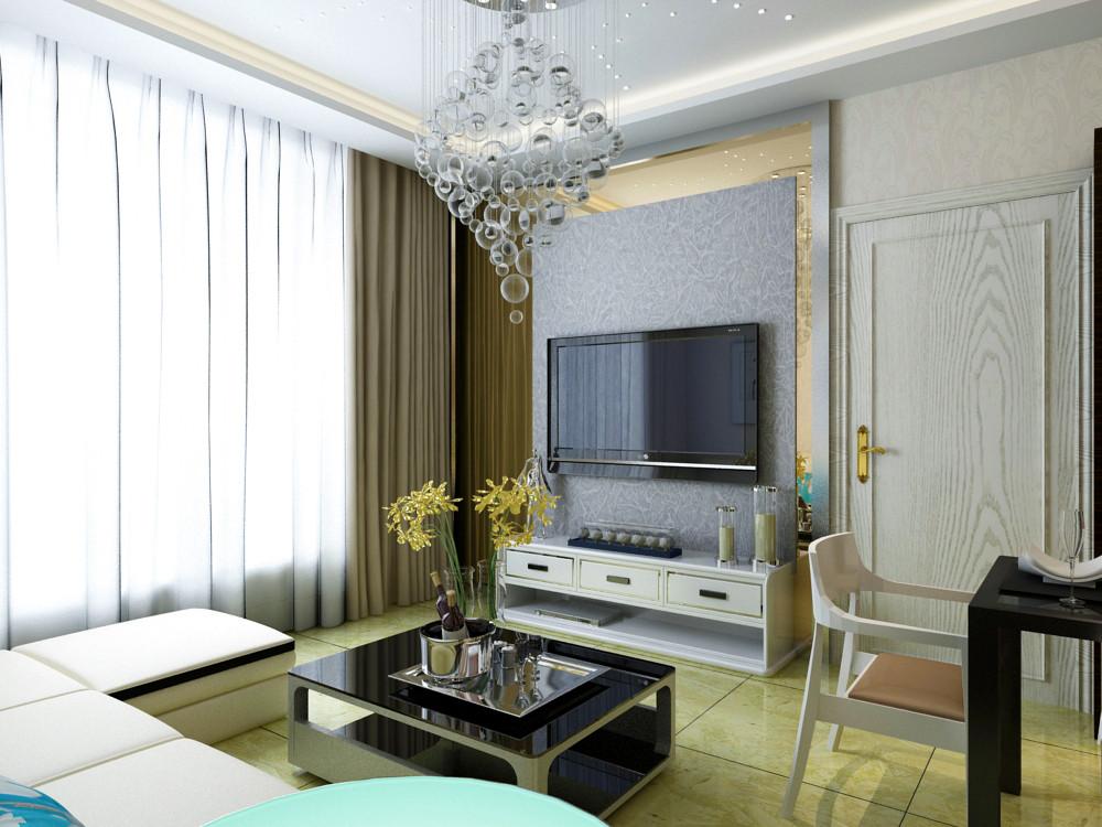 61.2平米二居室如何装修 现代简约半包2万!-融侨观邸装修