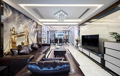 152平米四居室如何装修 港式风情全包30万!-汇悦天地装修