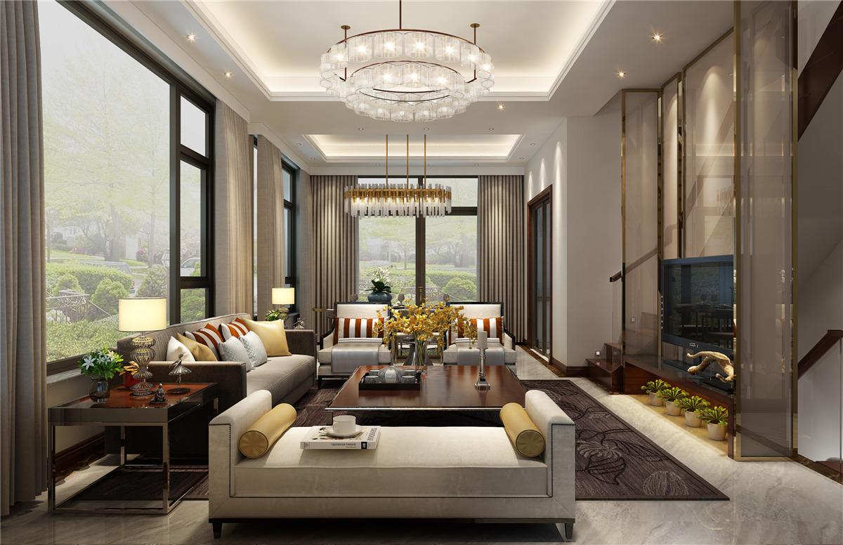 案例介绍:本案采用现代简约设计风格,由于此户型客厅采光度较高,设计师在空间及软装的色彩搭配上选取了明亮的配色,给人以明朗雅致感,整体空间的暖色调运用也提升了家居的温馨氛围。在卧室、书房等空间延续风格,规划合理,符合业主对于新居的居住需求。