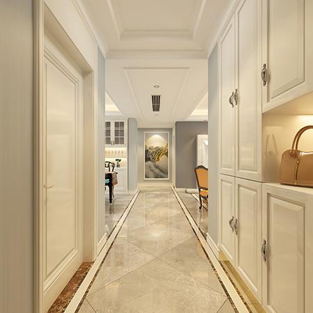 137平米三居室装修攻略 现代简约半包6万!-富力华庭装修