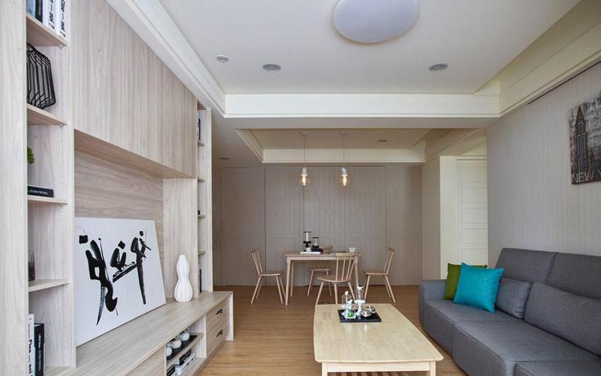 79.78平米二居室精美装修 北欧风清包4万!-鲁能城·中央公馆装修