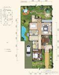 301平米五居室如何装修 美式乡村全包32万!-东山国际君度半山装修