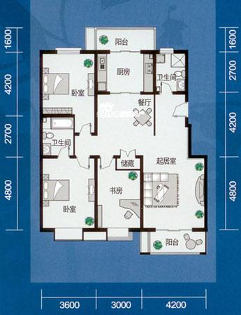 135平米三居室装修案例 现代欧式全包14万!-北大资源颐和天璞装修