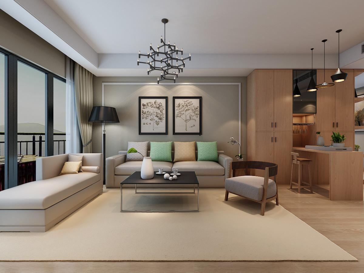 117.8平米三居室热门案例 现代简约半包4万!-华冶新天地装修