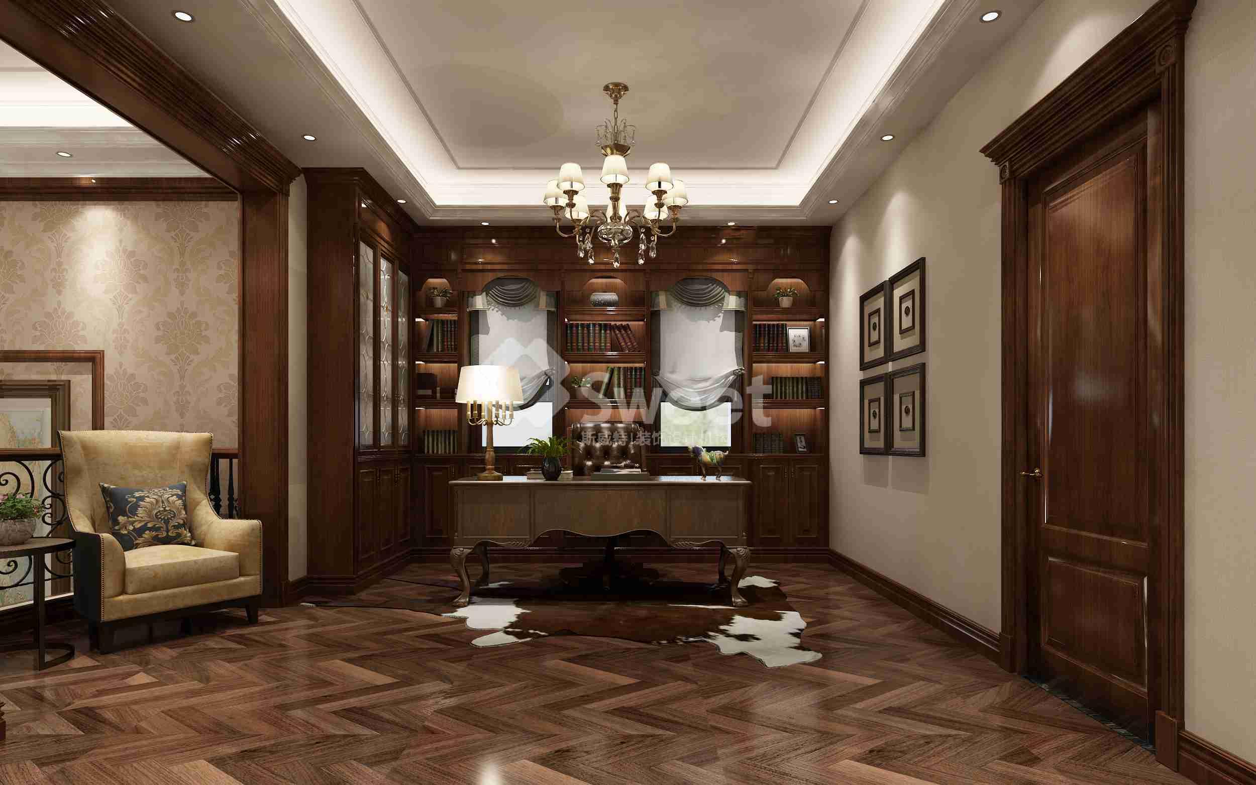 新中式风格造型以简洁明朗的造型为主,以简洁的线条勾画出空间层次感,再配上具有古典气质的家具及现代风格的简洁,极大的满足了现代人追求的时尚感和实用的原则。?