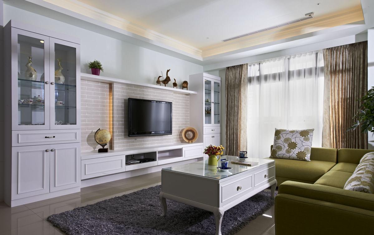 100平米三居室装修案例 现代简约全包12万!-九龙仓时代上城风华里装修