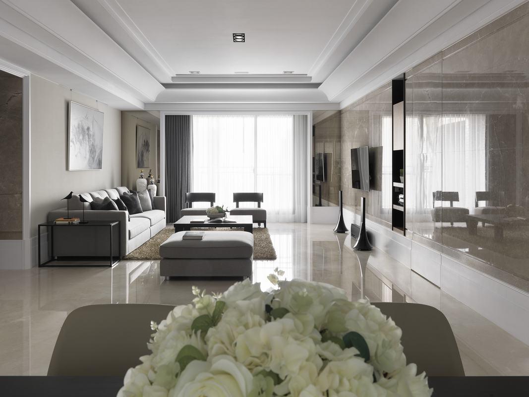129平米四居室装修攻略 现代简约全包11万!-顶琇国际城装修