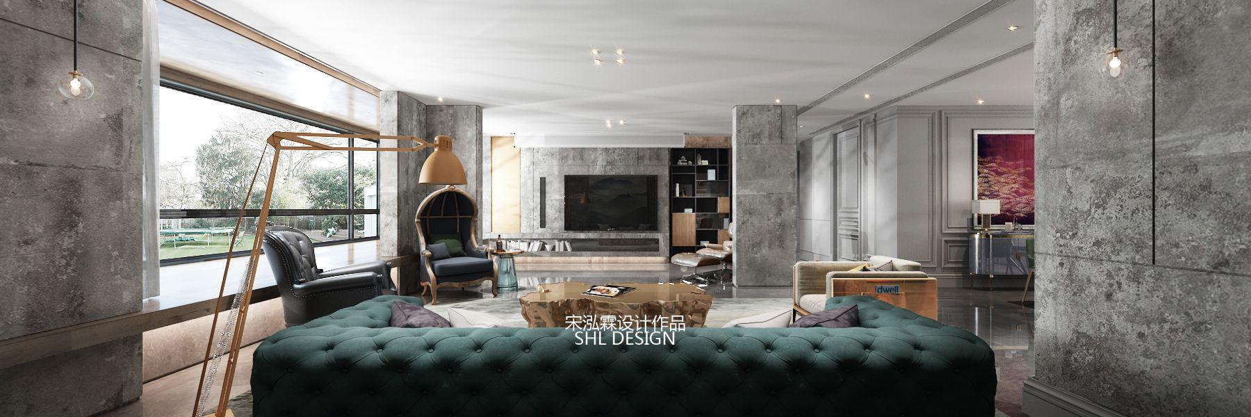 本案的主题为现代轻奢风格,简约俐落的质材铺叙与敞明大方的格局尺度,是轻奢风定调的设计居宅中,不可或缺的重要元素。