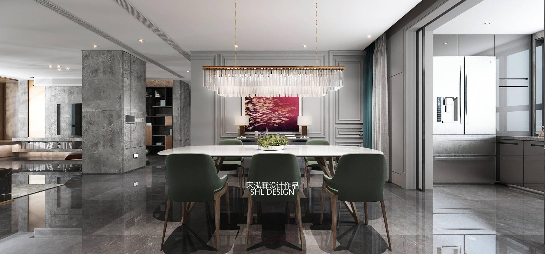 现代风格在设计进步的过程中始终扮演着至关重要的角色,现代轻奢融入了更多奢侈品牌家居等大牌家居呈现更为直接的感官享受。