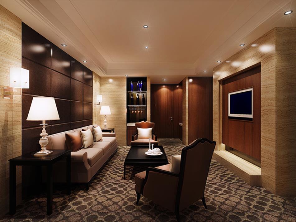 700平米五居室装修案例 现代简约半包90万!-恒大海上威尼斯装修