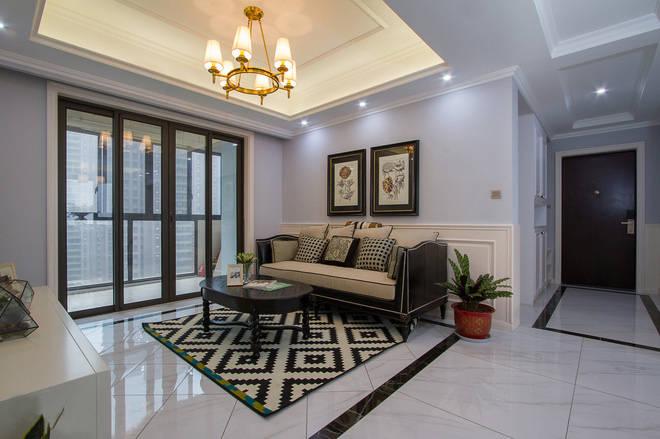 139平米三居室如何装修 欧美风情全包13万!-世界公元二期装修