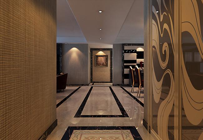 中央悦城154平米后现代风格装修案例
