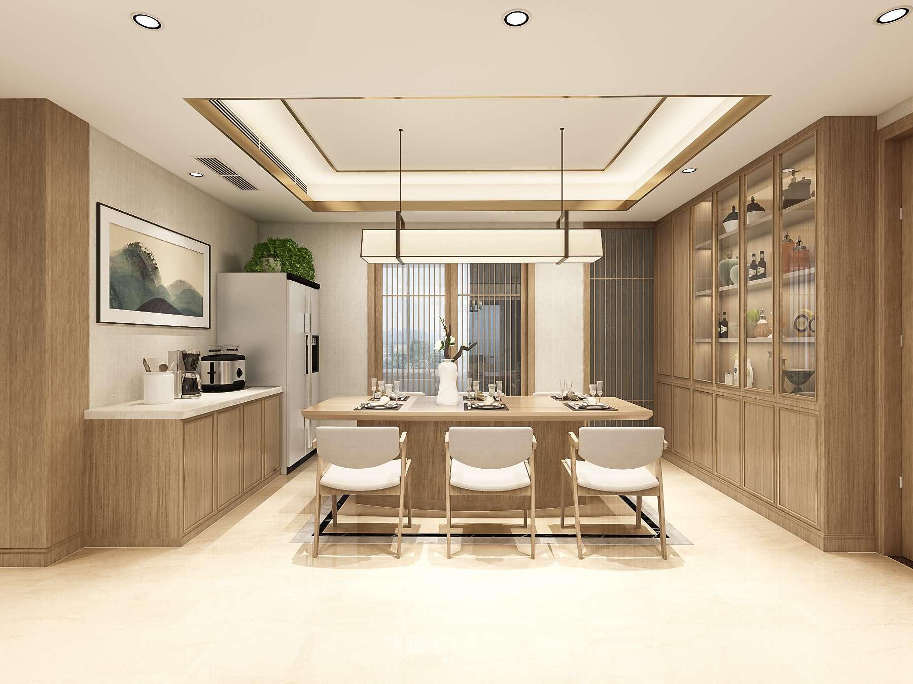 新中式风格的装修元素大多取自于传统中式风格,所以与其它的风格有很大的不同,新中式风格与其它装修风格营造的氛围也是有很大区别的,每一种装修风格都有其独特的特点,用以来满足不同客户的不同装修需求。