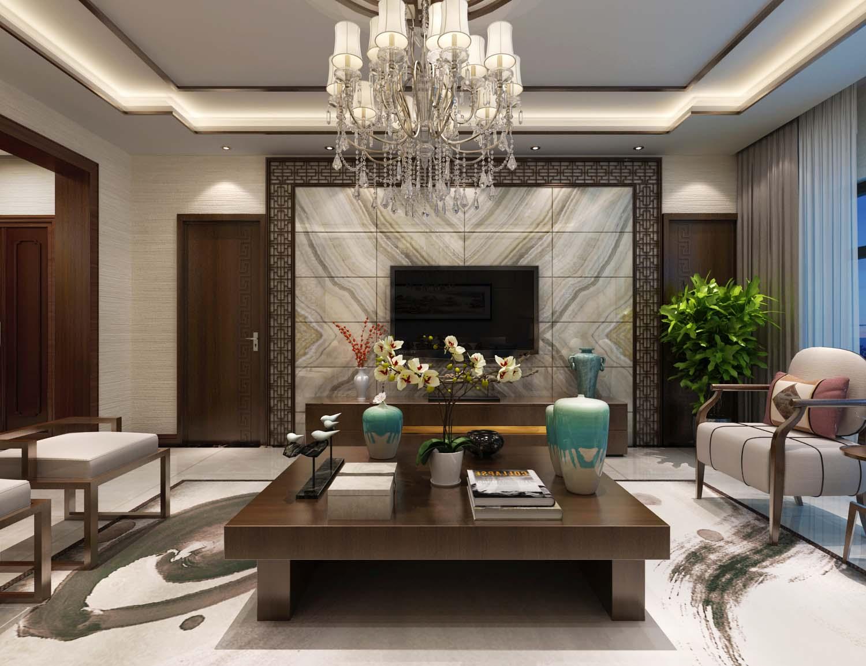 148平米四居室装修攻略 中式古典半包16万!-蓝天花园装修