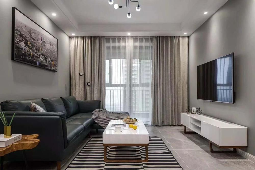 137平米三居室装修案例 现代简约全包18万!-万科苏高新遇见山装修