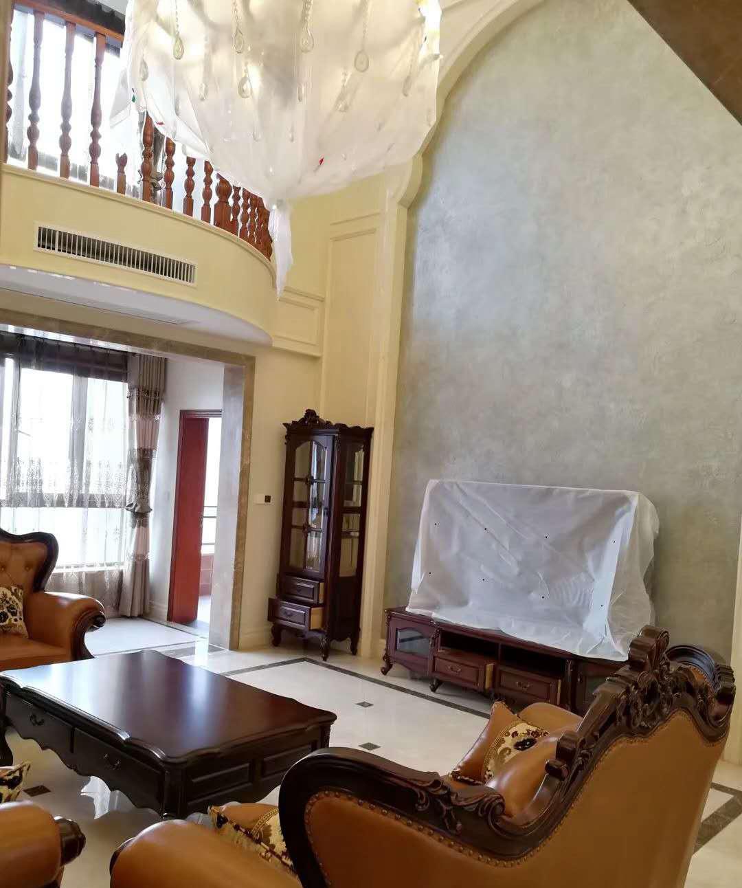 165平米四居室装修案例 欧美风情全包27万!-融创御锦装修