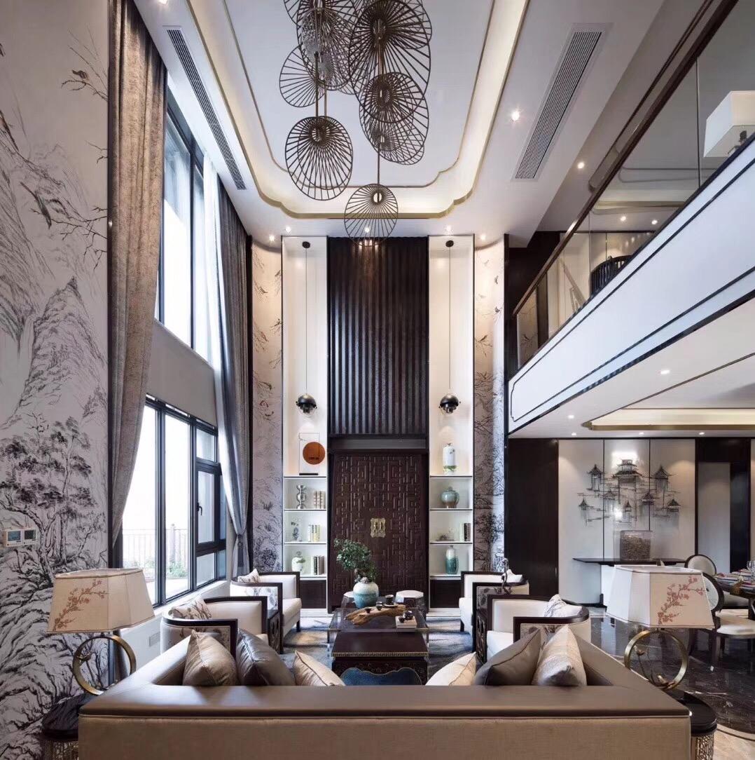 388平米五居室装修案例 中式古典全包39万!-潮白河孔雀城装修