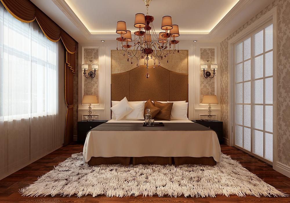 水榭花都231平米欧式新古典风格装修案例