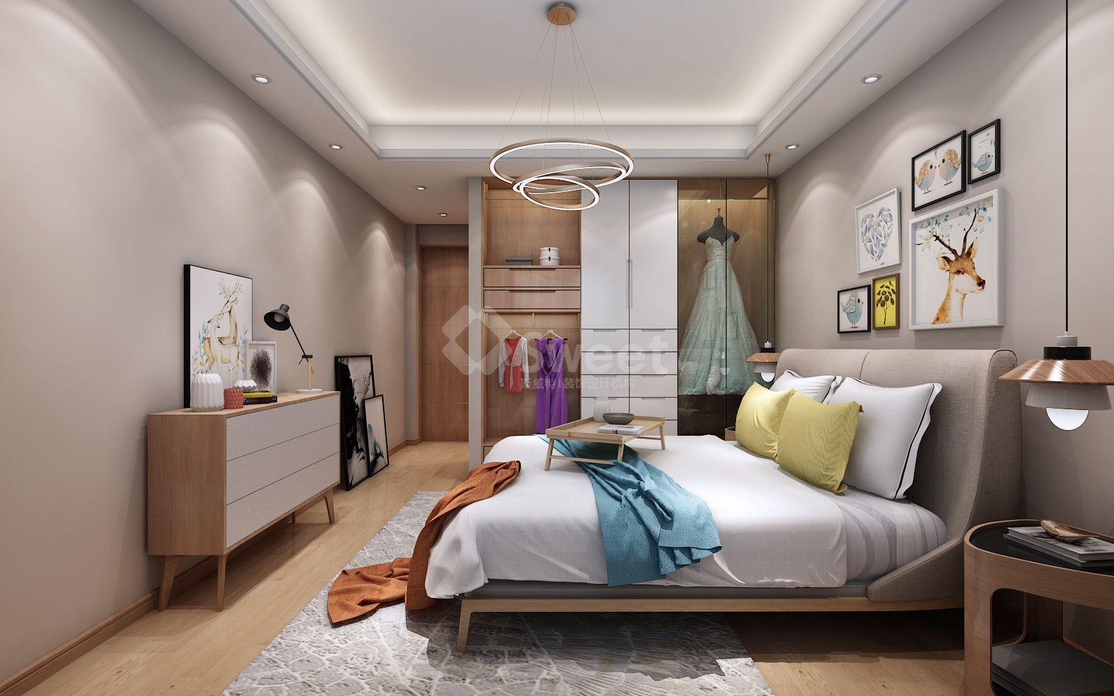 家具主要以木质材料制作,它本身所具有的柔和色彩,细密质感一级天然纹理非常自然地融入到家具设计之中,展现出了一种朴素,清新的原始之美,代表着独特的北欧风格。