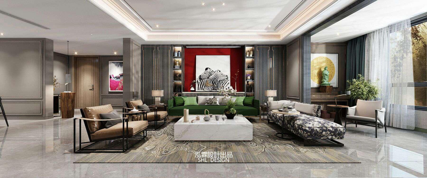 新中式风格诞生于中国传统文化复兴的新时期含蓄秀美继承传统家居中的经典元素提炼并加以丰富格调高雅,造型简朴优美色彩浓重而成熟,