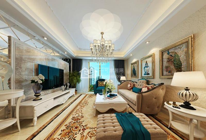 客厅设计效果图,精致温馨