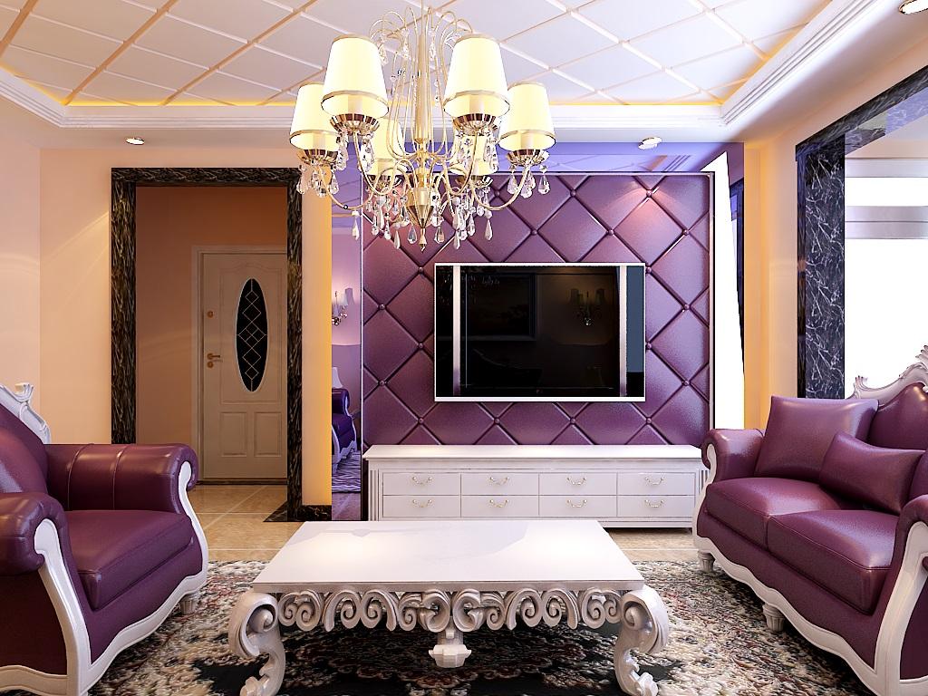 歐式風格,神秘紫色的生活體驗