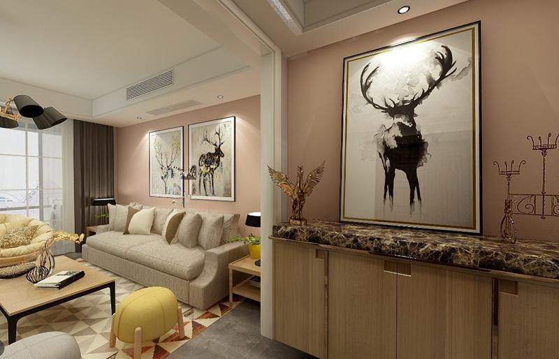 现代简约风格三居室如何装修,112平米的房子这样装才阔气!-中梁壹号院装修