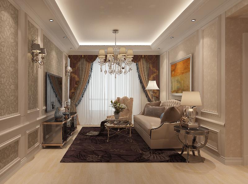 96平米的现代简约风格,原来三居室还可以这样装修!-中海复兴九里装修