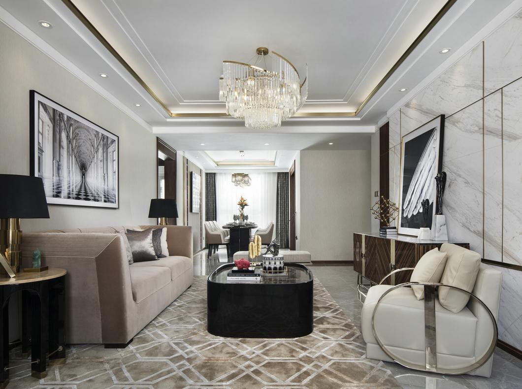 15万块钱装修的125平米的房子,其他风格简直太美了!-保利中央公园装修