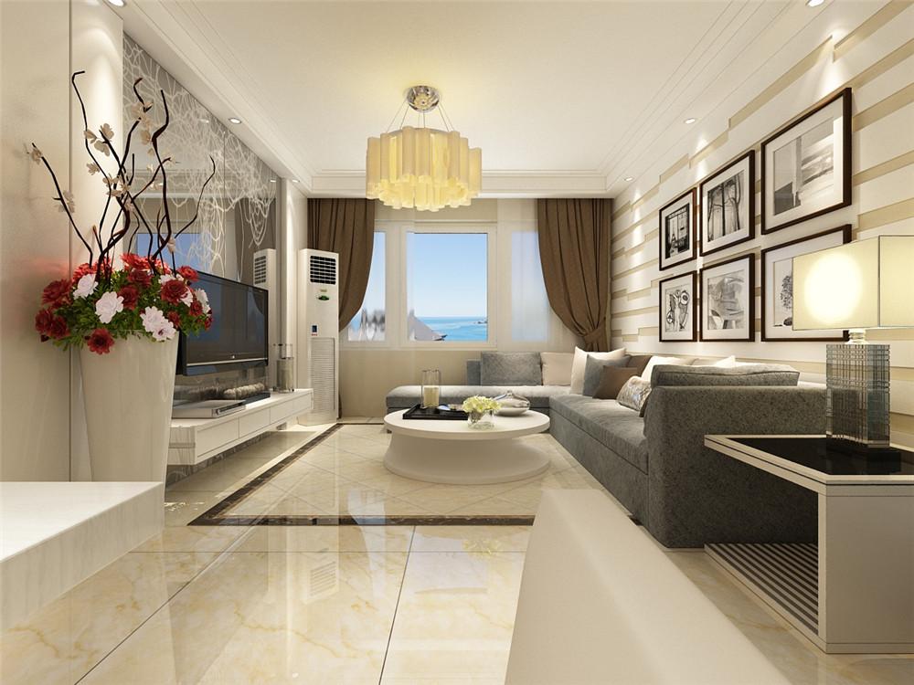 现代简约居室二案例热门柜子,89平米的风格这样装阔气!先吊顶再打房子吗图片