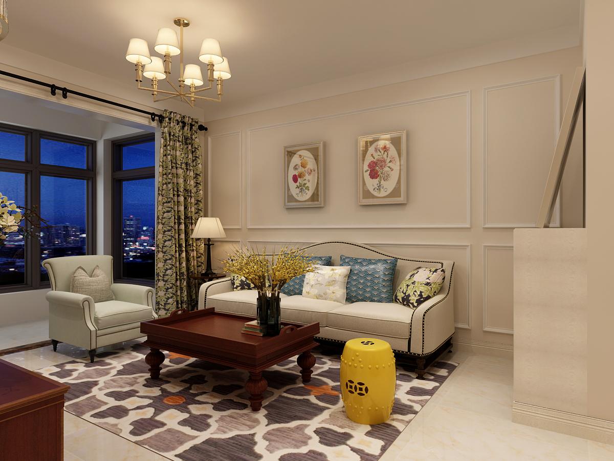 90后小夫妻花5万元装修的欧美风情风格,89.2平米二居室太赞了!-润德天悦城装修