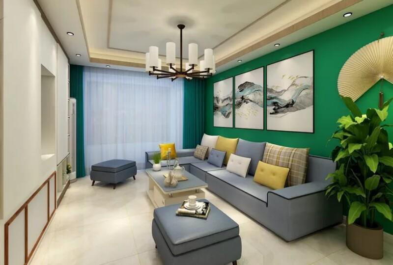 105平米三居室设计说明,11万元装修的现代简约风格有什么效果?-碧桂园金茂悦山装修