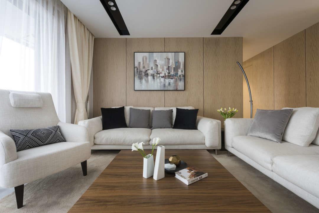 139平米的房子能装修成什么效果?现代简约风格四居室装修案例!-金地风华东方装修