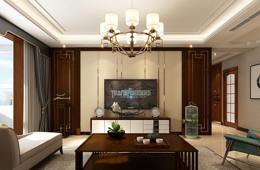 婆婆把125平米的房装修成这种中式古典风格,一进门就看呆了!-中梁壹号院装修