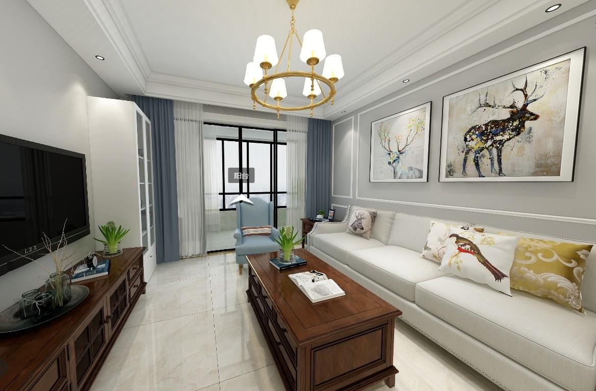 混搭风格三居室装修攻略,105平米的房子这样装才阔气!