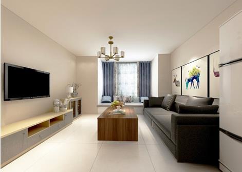 三居室的房子多大面积好?9万元的简约风格设计说明!-首开·国风琅樾装修