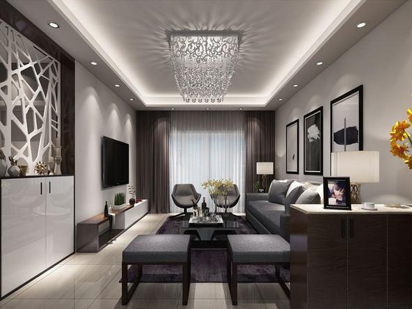 邻居花14万装修的132平米现代风格,比我家10万的都好!-光明领御装修