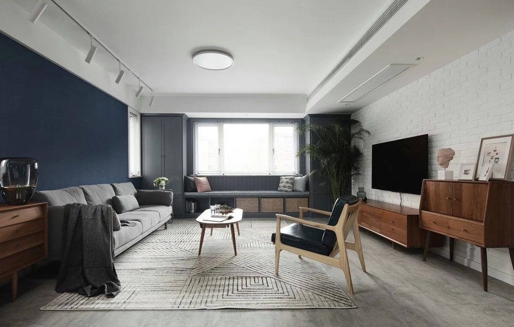 三居室的房子一般多少平米?北欧风格半包③装修好不好?-美的国宾府装修