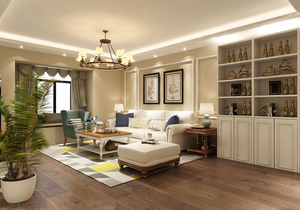选用全包的方式,将二居室房屋交给装修公司,只花了11万元!-花语倾城装修