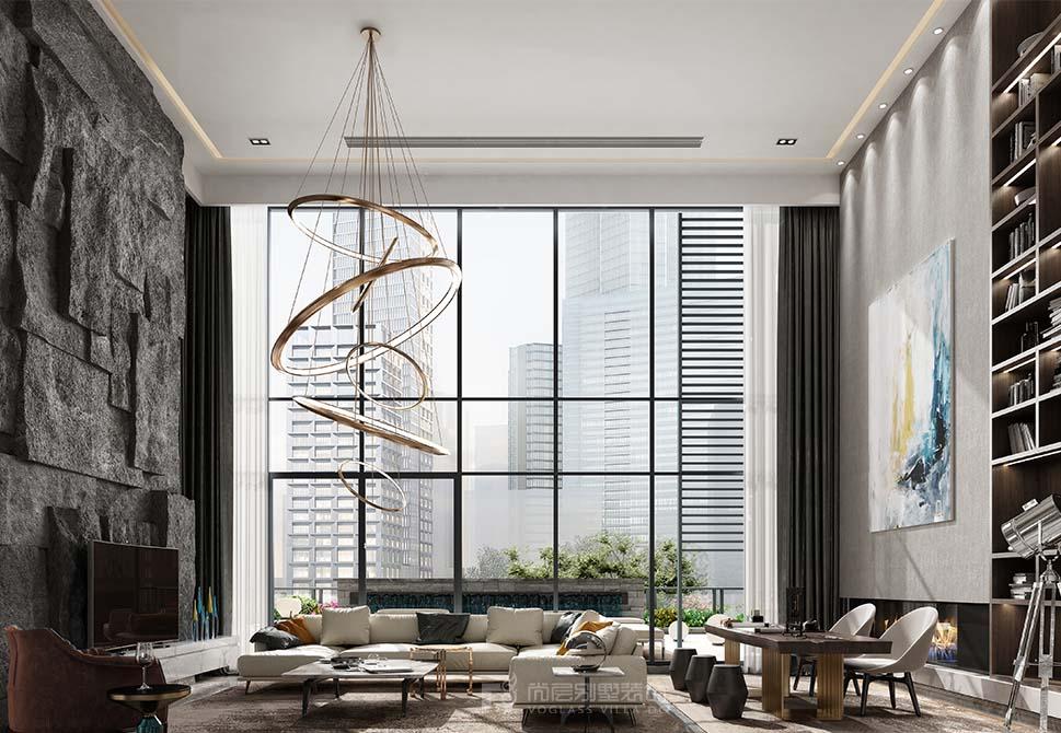 邻居花180万装修的600平米现代风格,比我家10万的都好!-君临天下城装修