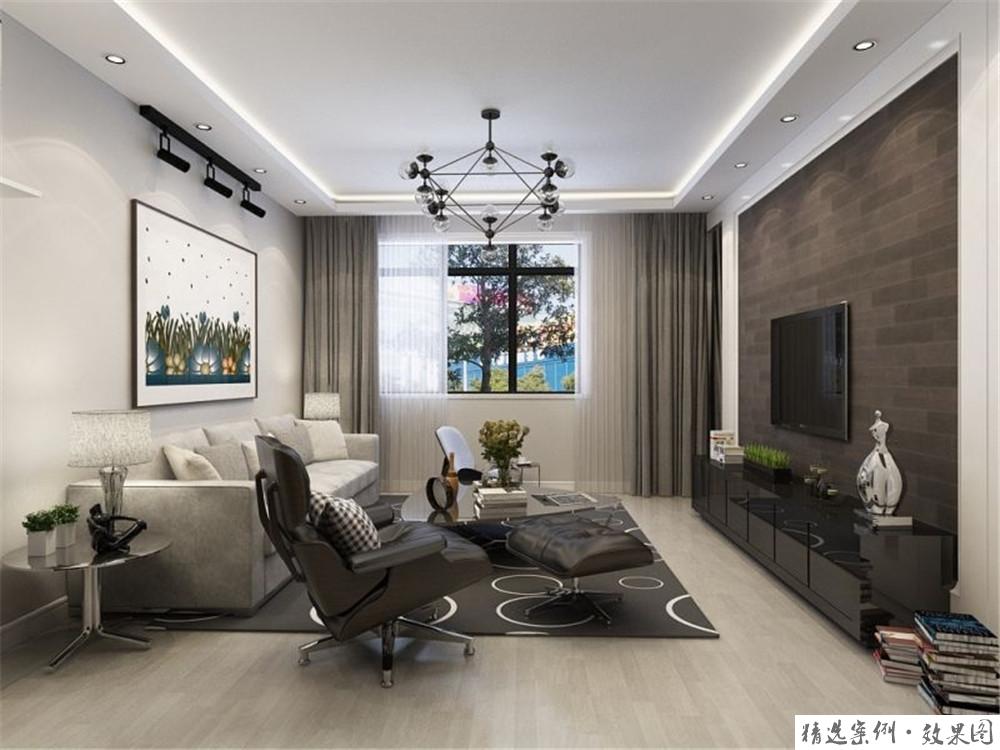 93.29平米二居室装修案例,装修价格只花3万元!-北岸印象装修