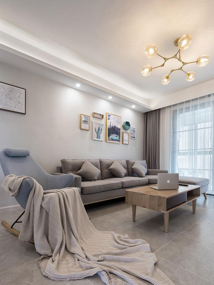 101平米的北欧风格,原来三居室还可以这样装修!-金地澜菲溪岸装修