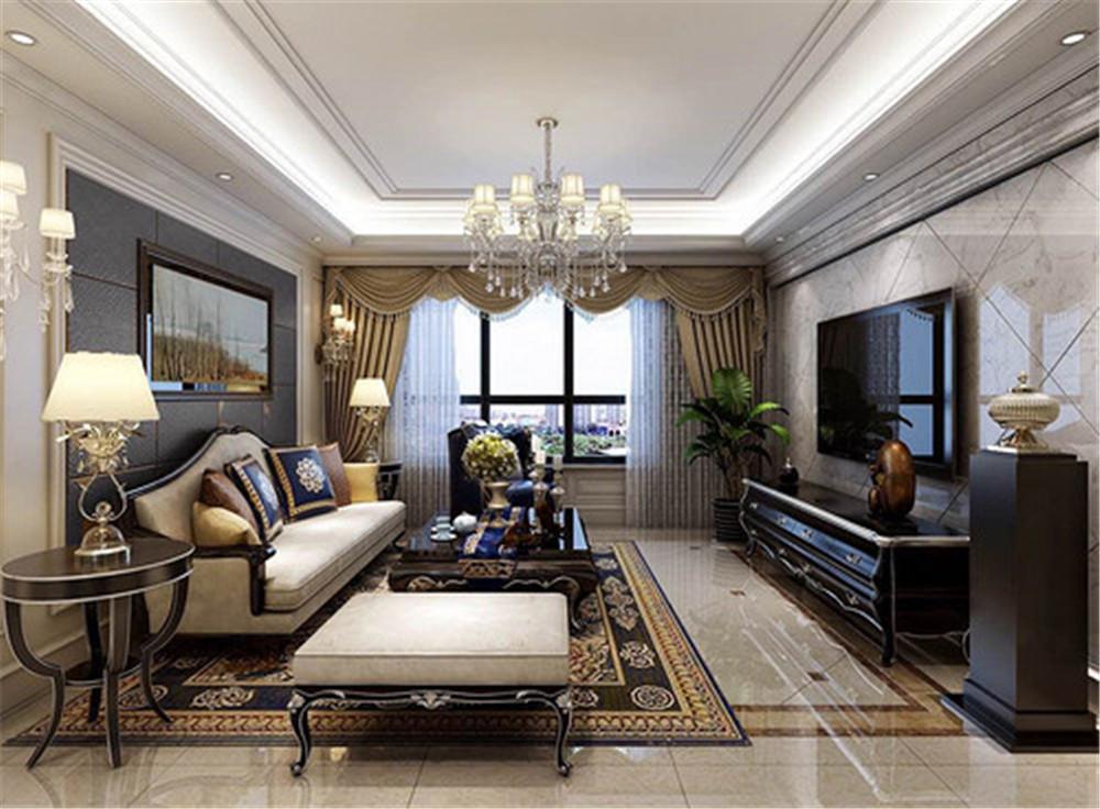 131平米的三居室,运用古典的装修风格效果是怎样的?-保利香颂装修