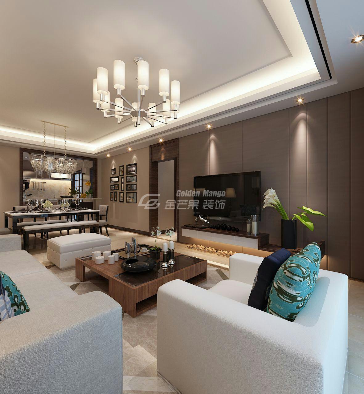 区区30万元,就把163.71平米的四居室装修拿下了,真是出乎意料!-绿城春江明月装修