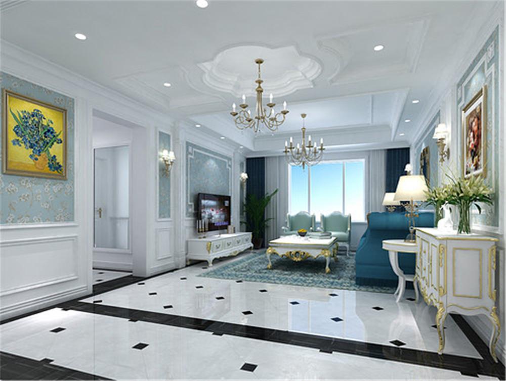 132平米,半包,法式风格的房子如何装修?-保利香颂装修