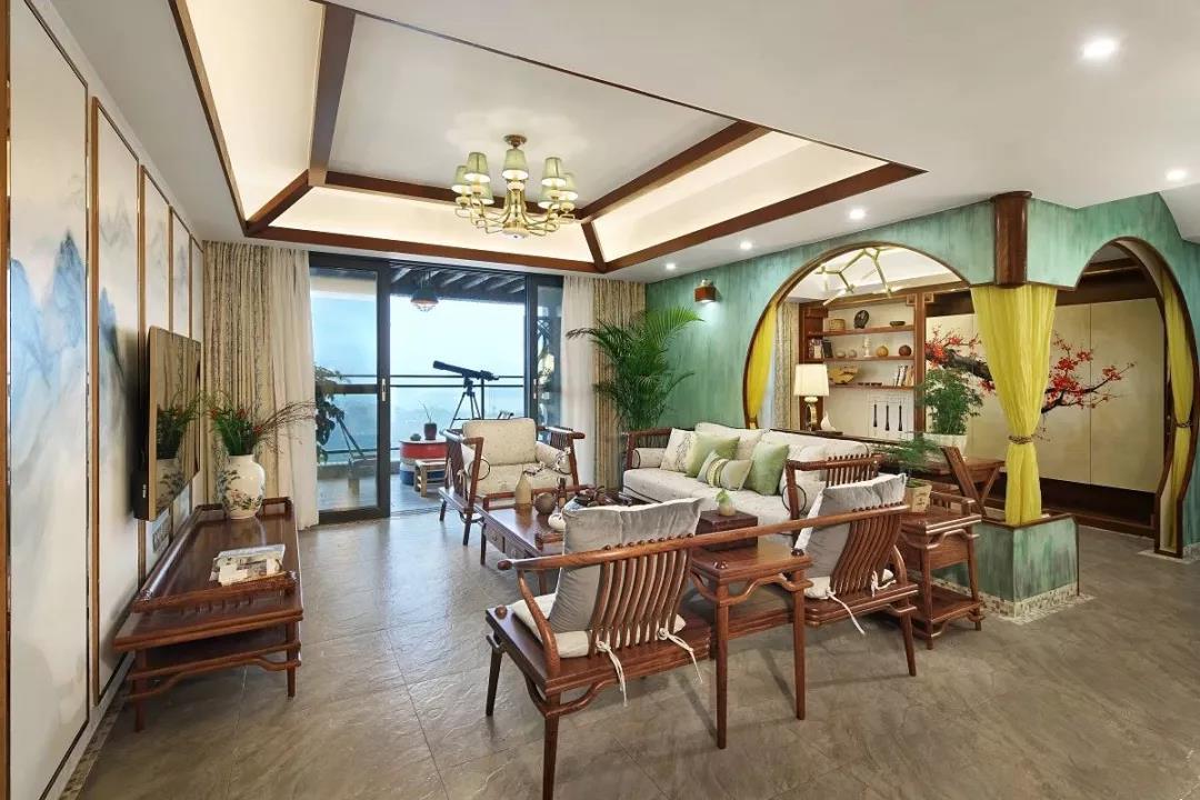 简约风格四居室装修案例,140平米的房子装修多少钱?-绿地汉口中心装修
