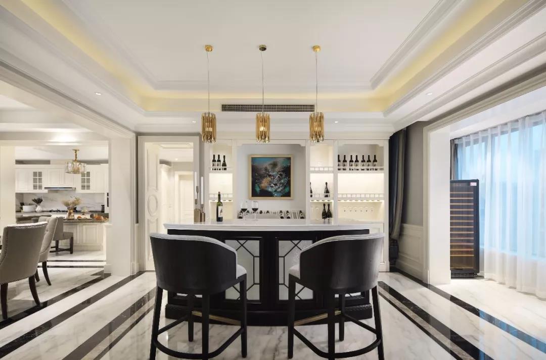 320平米的五居室要怎么装修才出其不意,选择现代风格准没错!-普罗理想国装修