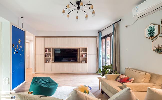 25万块钱装修的90平米的房子,简约风格简直太美了!-ΜΟΜΛ春风湖上装修